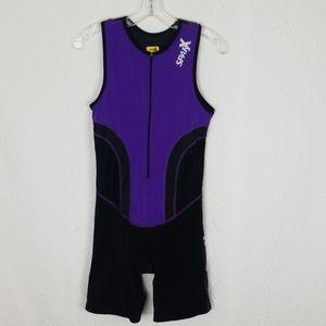 💜 Sparx Triathlon Cycling Running Swim Suit Large